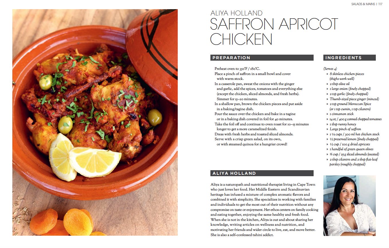 Saffron and Apricot Chicken Recipe Good to Glow