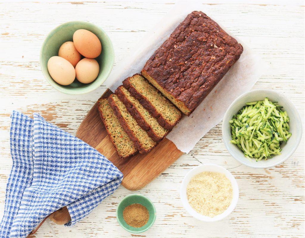 almond-courgette-bread